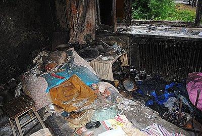 śmierć W Pożarze Domu Przy Ul Szosowej Wiadomości Komenda