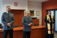 Uroczyste spotkanie opłatkowe dąbrowskich policjantów