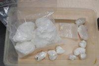 Zabezpieczona przez policjantów amfetamina